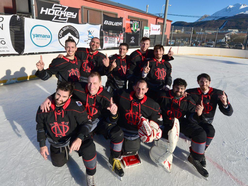 Ovejas Negras Hockey Club, Campeón en la categoría HOMBRES B.