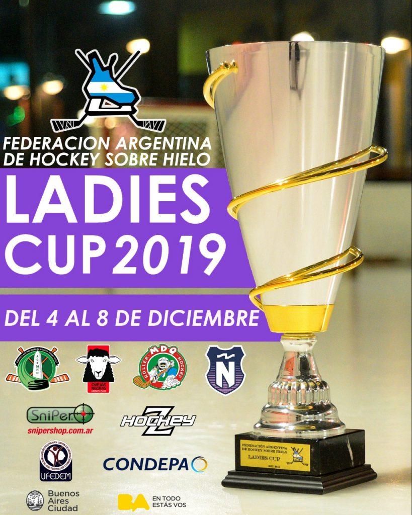LADIES CUP FAHH HOCKEY SOBRE HIELO